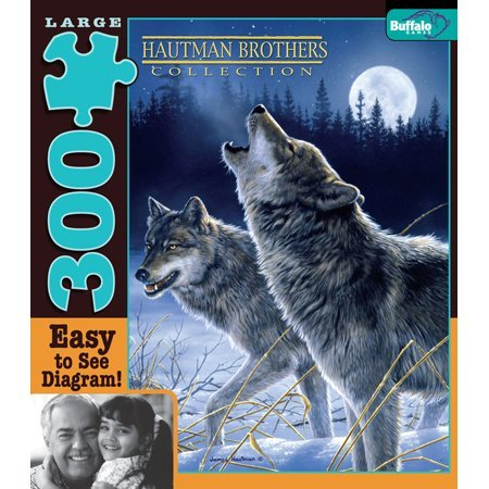 Hautman Howling in the Moonlight Jigsaw Puzzle ()