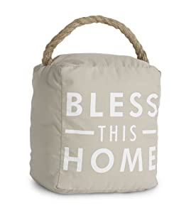 Pavilion Gift Company 72151 Bless This Home Door Stopper, 5 by 6-Inch