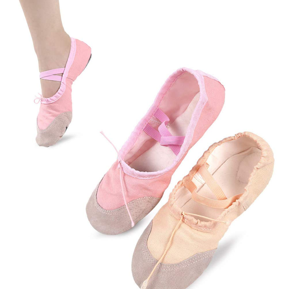 SUPVOX Ballet Flats Shoes Ballet Slippers Pilates Yoga Shoes Dance Gymnastics for Children Adults /ï/¼/ˆSize 22/ï/¼/‰