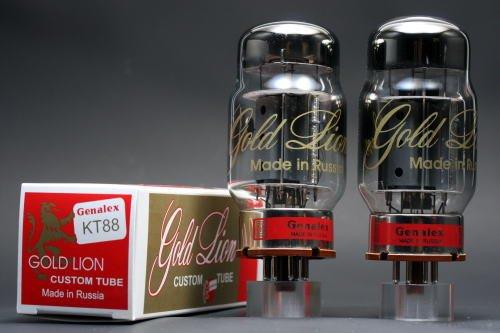 KT88 GOLD LION 2本マッチ 高パワー 真空管PX23   B002U1WEAQ