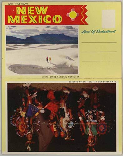 New Mexico Land of Enchantment - 1957 H.S. Crocker Petley Souvenir Postcard Folder