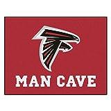 Fanmats 14264 NFL Atlanta Falcons Nylon Universal Man Cave All-Star Mat