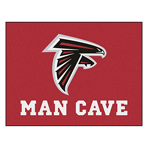 FANMATS 14264 NFL Atlanta Falcons Nylon Universal Man Cave All-Star Mat ()