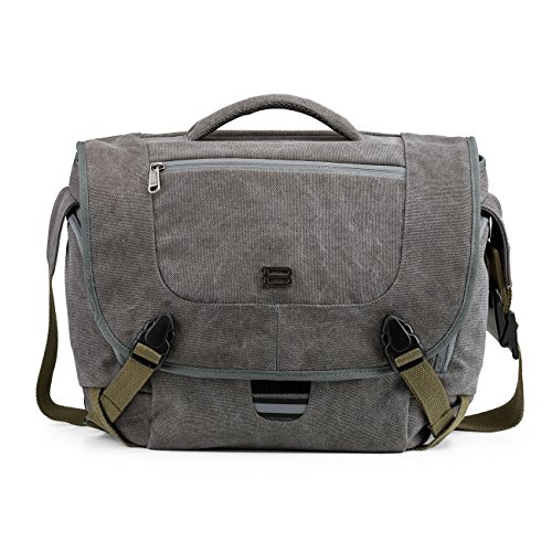 BAGSMART Camera Messenger Shoulder Bag for SLR/DSLR Cameras