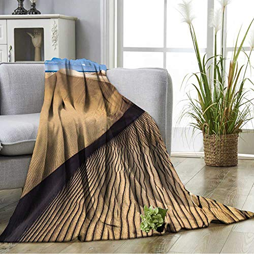 Amazon.com: YOYI Blanket as Bedspread Sandy Dunes in Famous ...