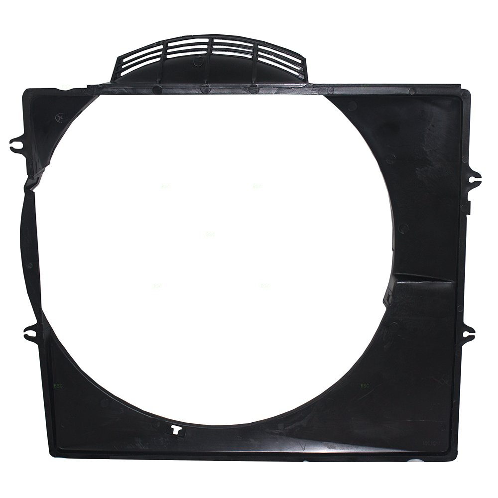 Upper Radiator Cooling Fan Shroud Replacement for Toyota 4Runner 6 cyl 16711-65031 TO3110107