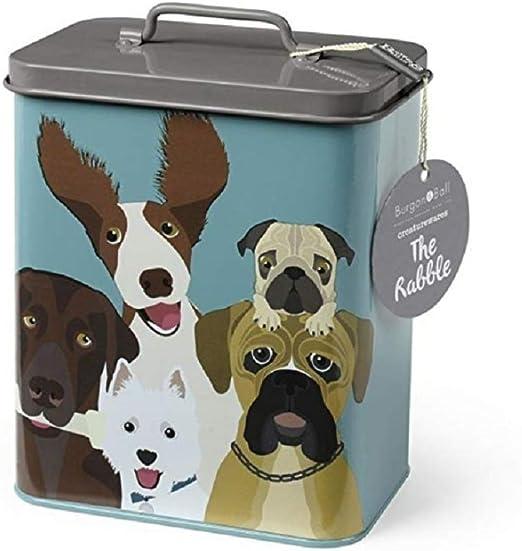 Burgon & Ball - Creaturewares - Caja de Almacenamiento para Comida de Mascotas: Amazon.es: Jardín
