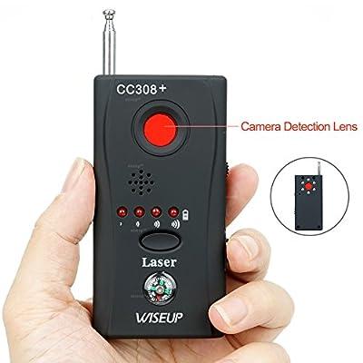 Wiseup™ Anti Hidden Camera Wireless Detector GSM Bug Device Finder Adjustable Detection Sensitivity