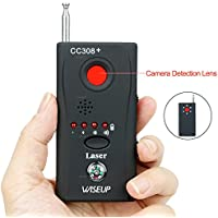 Wiseup™ Anti Hidden Camera Wireless Detector GSM Bug Device Finder Adjustable Detection Sensitivity