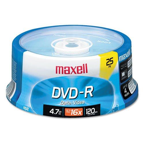 DVD - Rディスク、4.7ギガバイト、16倍、スピンドル、ゴールド、25 /パック B075Y1MF2M