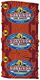 CBS Survivor 34 Game Changers Buff-Mana Tribe-Red