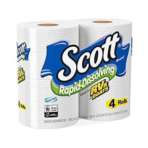 Scott-Rapid-Dissolving-Toilet-Paper-Bath-Tissue-for-RV-Boats-4ct-packs-X-12-48-rolls