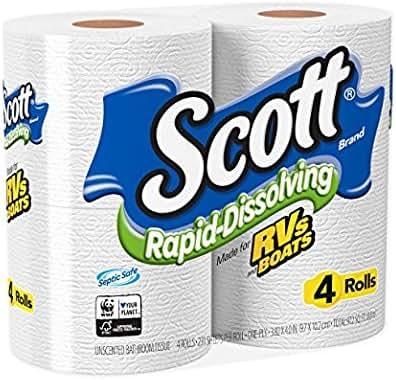 Toilet Paper: Scott Rapid-Dissolving