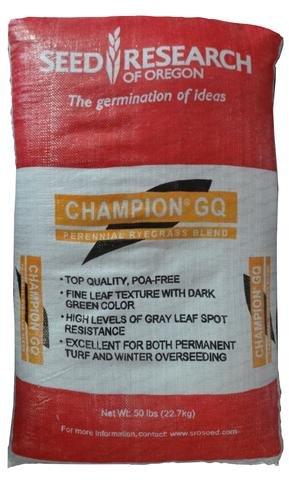 SeedRanch Champion GQ Perennial Ryegrass - 50 Lb.