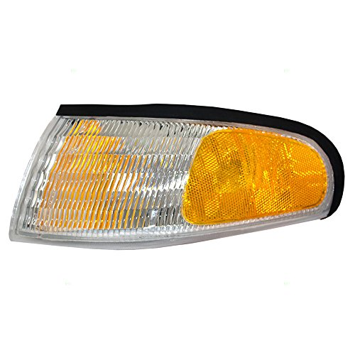 (Drivers Park Signal Corner Marker Light Lamp Lens Replacement for Ford F4ZZ13201A )