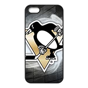 Pittsburgh Penguins New Style High Quality Comstom Protective case cover For iPhone 5S