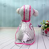 Dog Raincoats - Dog Apparel Waterproof Small Pet Raincoats Jacket Hooded Rain Coat Clothing Transparent Dogs - Small For Boots Xxxl And With Harness Waterproof Xlarge Xl