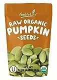 Pepitas/Semillas de calabaza orgánicas de Food to Live (Crudas, sin cascara) (2 Pounds)