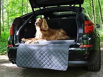 Auto hundematte - para maletero - Techo - Auto de cama para perros en gris piel sintética: Amazon.es: Productos para mascotas