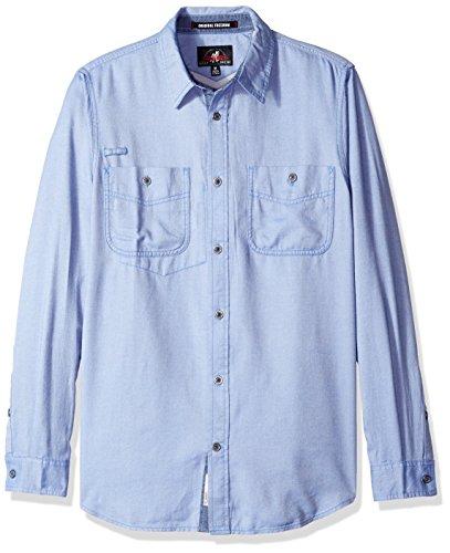 Gramicci Twill Flannel Shirt, Dutch Blue, Large