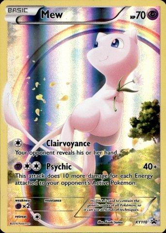 Pokemon - Mew (XY110) - XY Black Star Promos - ()