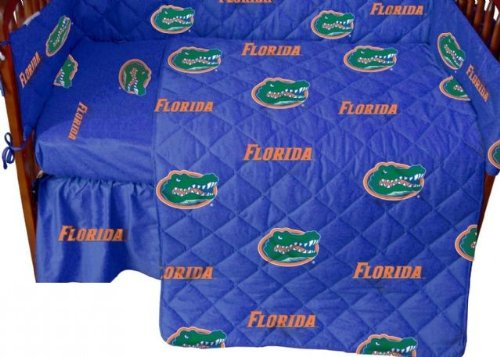 College Covers Florida Gators Pair of Fitted Crib Sheets, 28