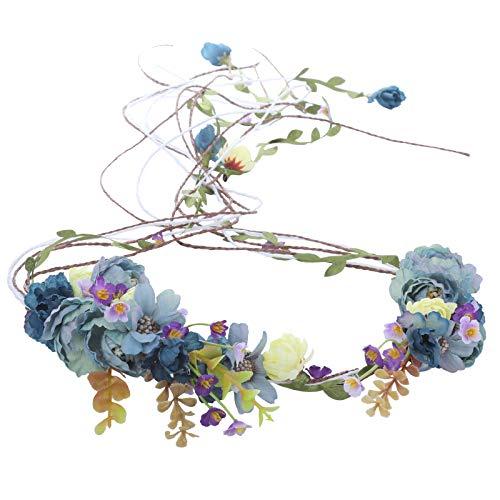 Flower Headband Bohemia Floral Headpiece - AWAYTR New