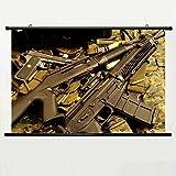 Benelli M4 M04 Super 90 Pump Action Shotgun Semi Wall Scroll Poster 24 X 16 Inch