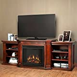 Cheap Real Flame Valmont Entertainment Center and CO Electric Fireplace