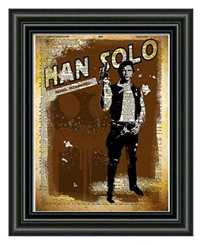 han-solo-star-wars-art-splatter-art-print-dictionary-page-print