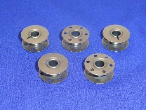 5 compatible con bobinas de máquina de coser NECCHI 542, 544 ...