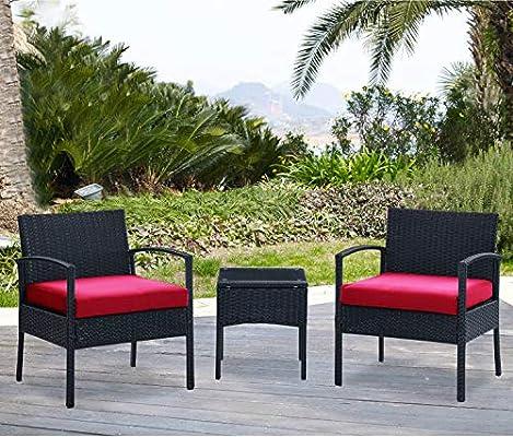 DG Casa San Juan 14 Piece Outdoor Patio Deck Furniture Set with