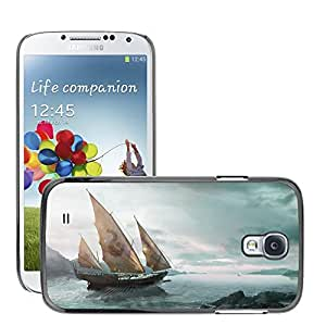 Hot Style Cell Phone PC Hard Case Cover // M00045678 fantasy ship artistic // Samsung Galaxy S4 i9500