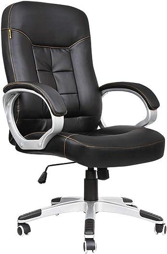 Office Chair Desk Chair Ergonomic Computer Chair High Back PU Executive Chair