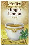Yogi Tea Ginger Lemon Organic 17 Bag (Case of 6)