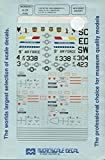 Microscale Decals 1:48 F-16B 363 TFW Wing Commanders F-16A's 157 TFS #48-230