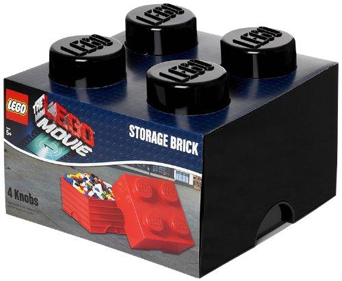 LEGO Movie Storage Brick Black