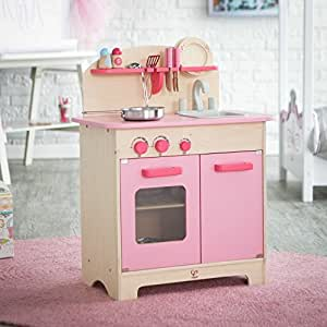 wooden play kitchen accessories hape hape pink gourmet play kitchen with 1650