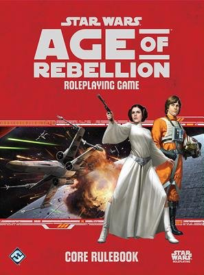 Star Wars( Age of Rebellion RPG Core Rulebook)[SW][Other] - Star Wars Rpg Core