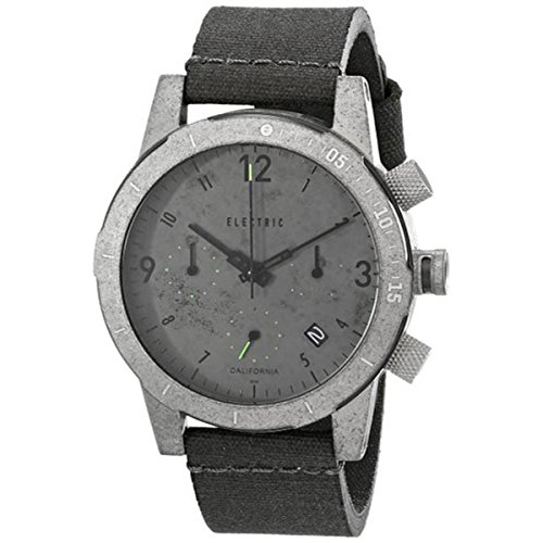Electric Men's EW0020020037 FW02 Nato Band Analog Display Japanese Quartz Grey - Hand Designer Second Sunglasses