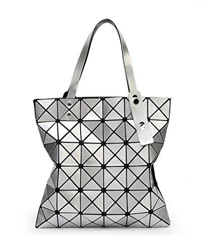 Katoony Womens PU Leather Geometric Diamond Lattice, used for sale  Delivered anywhere in USA