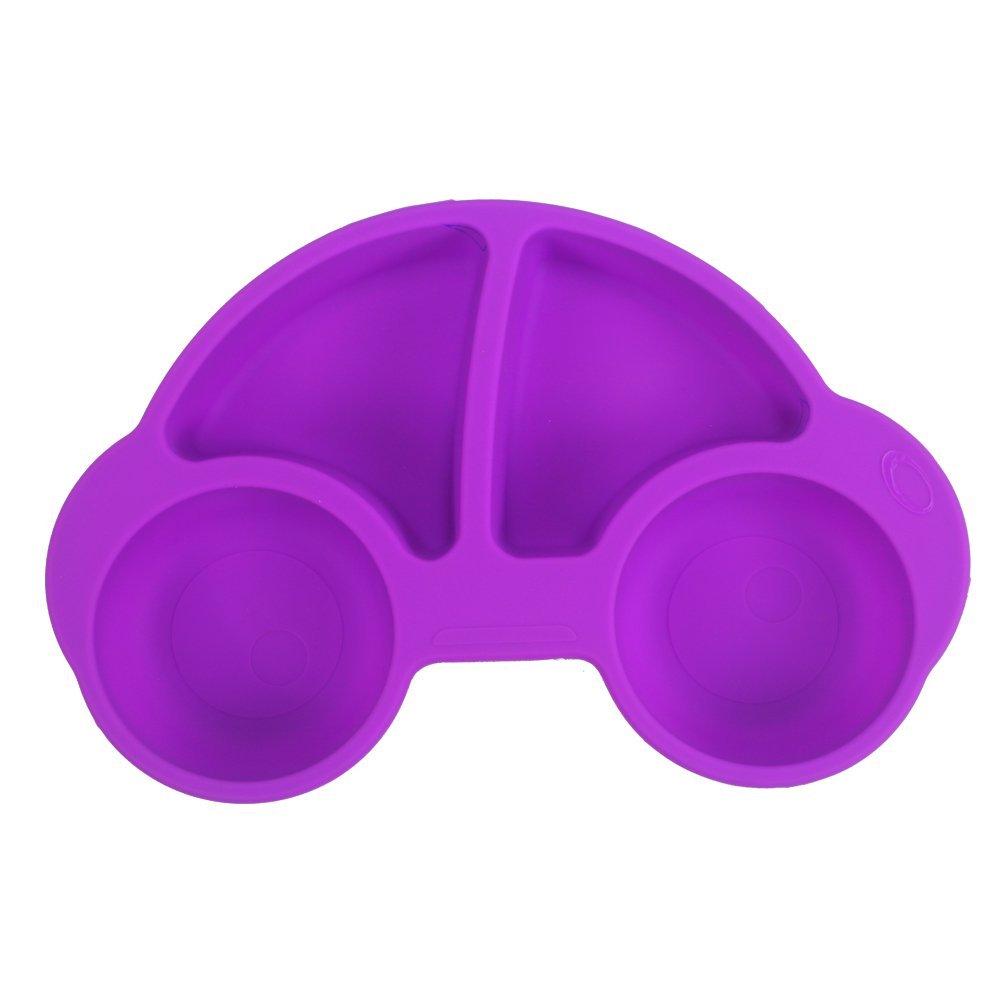 Winly - Plato dividido para bebés y niños (bonito coche), apto ...