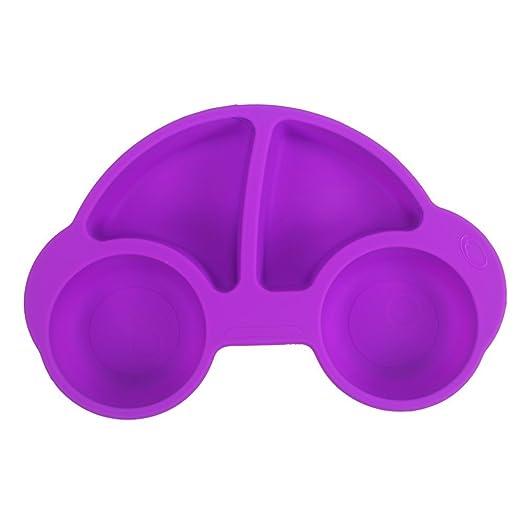 Winly - Plato dividido para bebés y niños (bonito coche ...