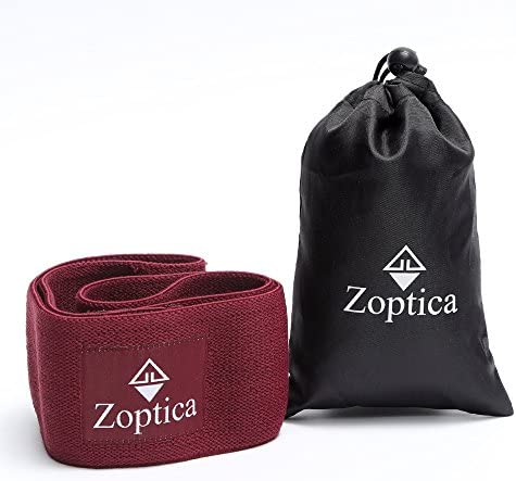 Zoptica Hip Resistance Band for Workout Exercise Extra Thick, Durable Non-Slip Gym Circle Loop – Perfect for Stretching, Squats, Warm-up, Pilates Training Legs, Thighs, Butt for Women Men