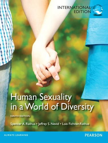 Human Sexuality in a World of Diversity pdf