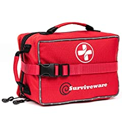 "A PROVEN TRACK RECORD. The Suriveware Small First Aid Kit is successful because we have great customers. And we really listen to them. Again and again, we would hear: ""I love the small first aid kit, but I would also like a larger one!"". We l..."