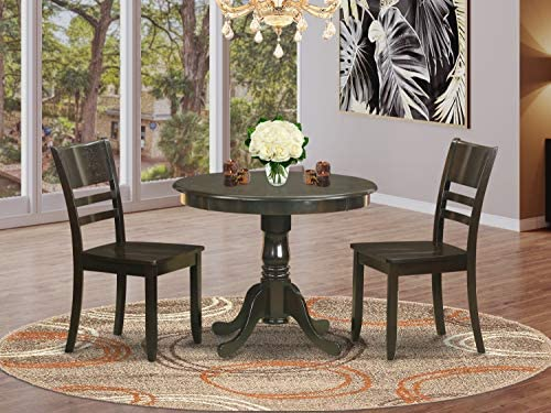 East West Furniture Wooden Dining Table Set