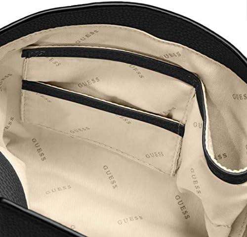 Guess West Side Flap Satchel Tan: Amazon.it: Scarpe e borse