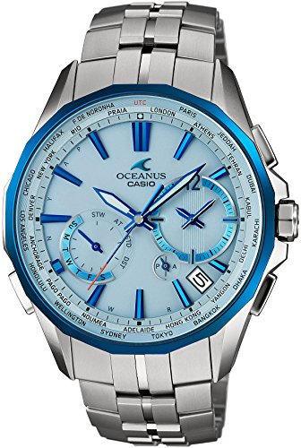 CASIO Men's watch OCEANUS Manta world six stations corresponding Solar radio OCW-S3400D-2AJF
