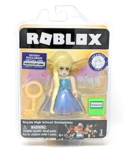 Roblox Gold Collection Royale High School: Enchantress Single Figure Pack with Exclusive Virtual Item Code (Original Version)